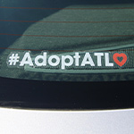 Click here for more information about #AdoptATL Car Decal