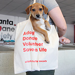 Click here for more information about Save a Life Canvas Tote Bag